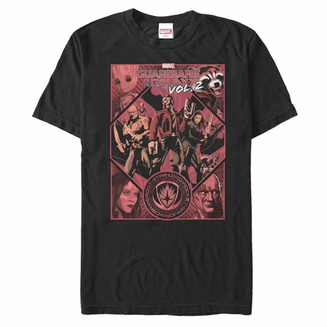 Guardians of the Galaxy Vol 2 Red Crew T-Shirt