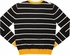 Gudetama Shell Striped Cardigan Sweater