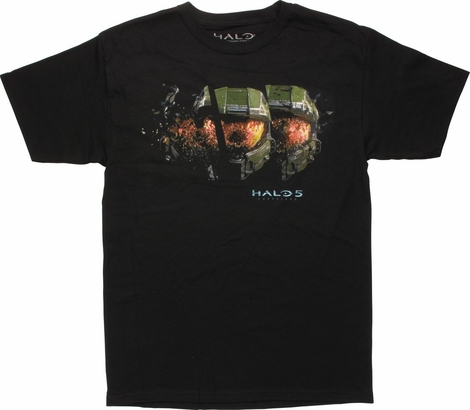 Halo 5 Guardians Master Chief Helmet T-Shirt