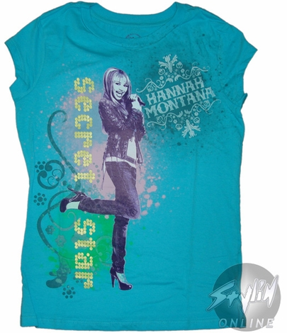 Hannah Montana Secret Star Tween T-Shirt