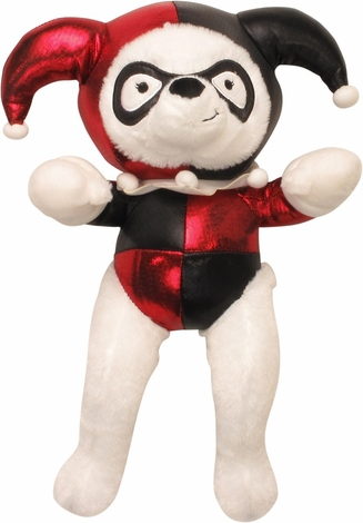 harley quinn white bear plush. Black Bedroom Furniture Sets. Home Design Ideas