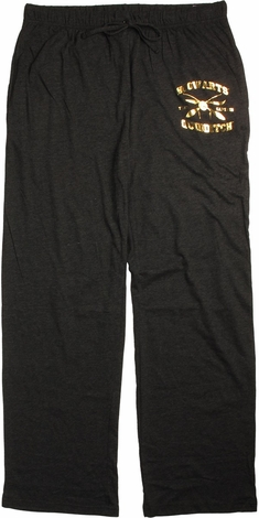 Harry Potter Foil Howarts Quidditch Lounge Pants
