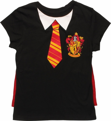 Harry Potter Gryffindor Cape Youth Girls T-Shirt