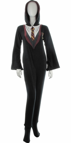 Harry Potter Gryffindor Hooded Union Suit