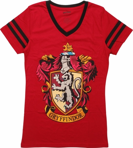 Harry Potter Gryffindor Jersey Juniors T-Shirt