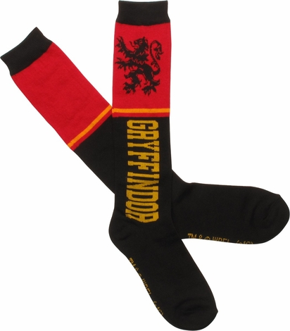 Harry Potter Gryffindor Ladies Knee High Socks