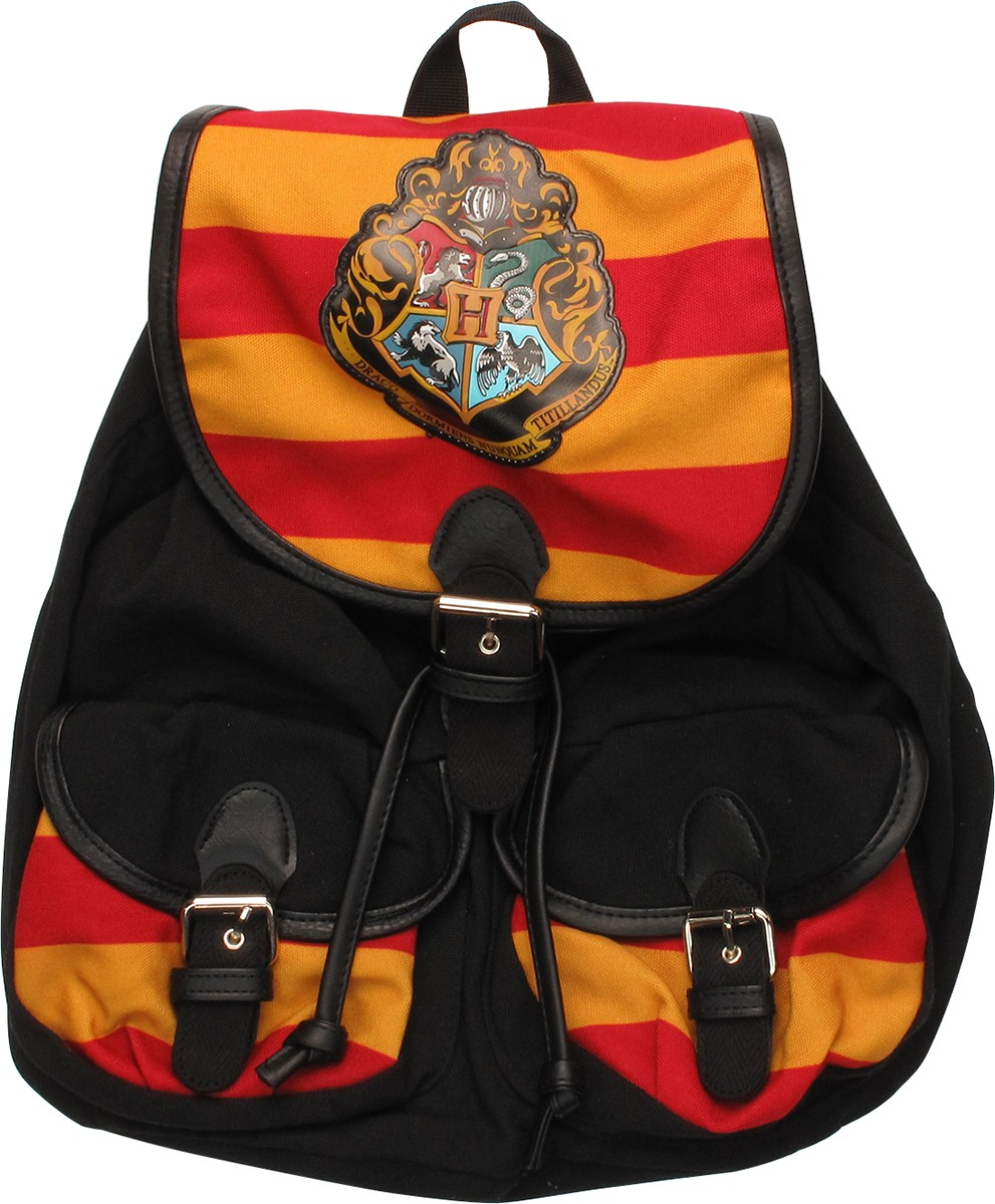 harry potter hogwarts knapsack backpack. Black Bedroom Furniture Sets. Home Design Ideas