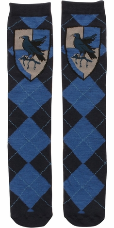 Harry Potter Ravenclaw Argyle Crew Socks