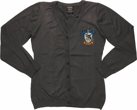Harry Potter Ravenclaw Cardigan Sweater