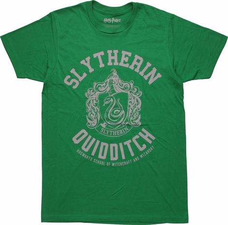 Harry Potter Slytherin Quidditch T-Shirt