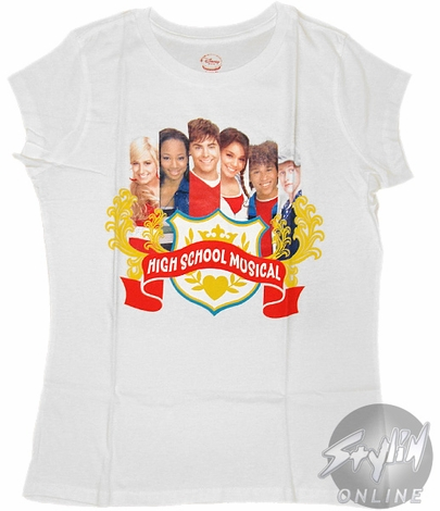 High School Musical Crest Tween T-Shirt