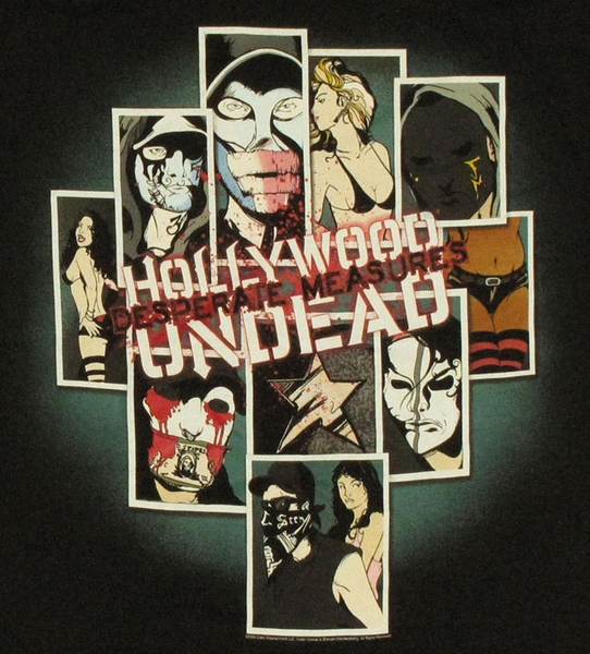 Hollywood undead comic t shirt for Comic t shirts online