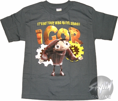Igor Genius Youth T-Shirt