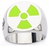 Incredible Hulk Avengers Radioactive Symbol Ring