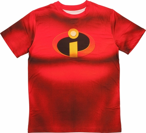 Incredibles Sublimated Costume T-Shirt Sheer