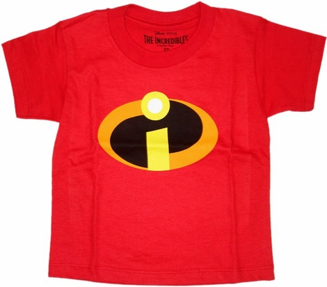 Incredibles Symbol Toddler T Shirt