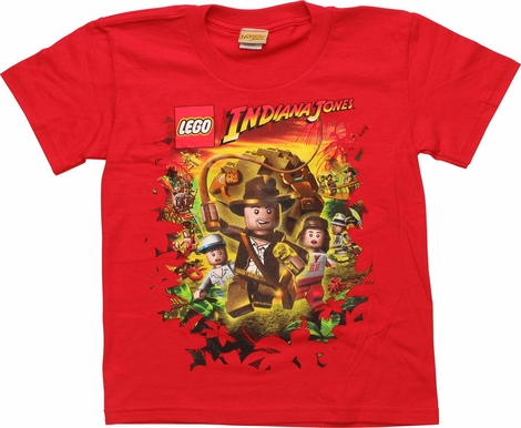 Indiana Jones Raiders of Lost Ark Youth T-Shirt