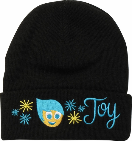 Inside Out Joy Cuff Beanie