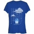 Inside Out Sadness Rain Juniors T-Shirt