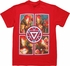 Iron Man 3 Four Poses Near Core T Shirt