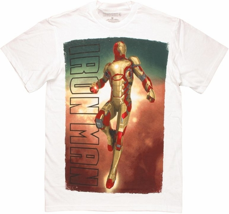 Iron Man 3 Mark XLII Soaring T Shirt