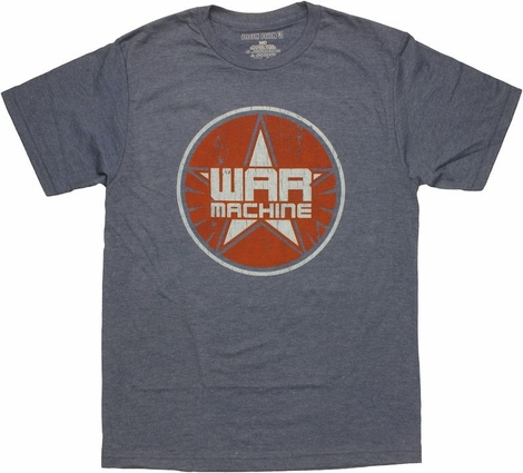 Iron Man 3 War Machine Logo T Shirt Sheer