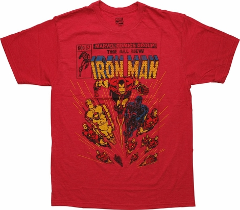 Iron Man All New Issue Cover 174 T-Shirt Sheer