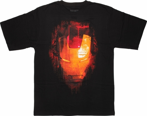 Iron Man Big Head Urban T-Shirt