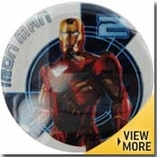 Iron Man Button