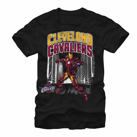 Iron Man Cleveland Cavaliers Defense T-Shirt