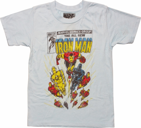 Iron Man Comic Cover 174 Juvenile T-Shirt