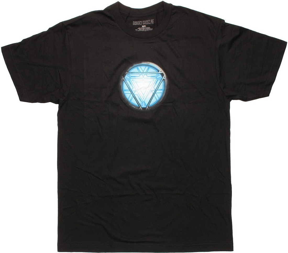 iron man detailed blue core t shirt. Black Bedroom Furniture Sets. Home Design Ideas