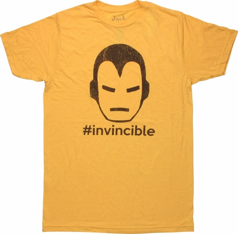 Iron Man Hashtag Invincible T-Shirt