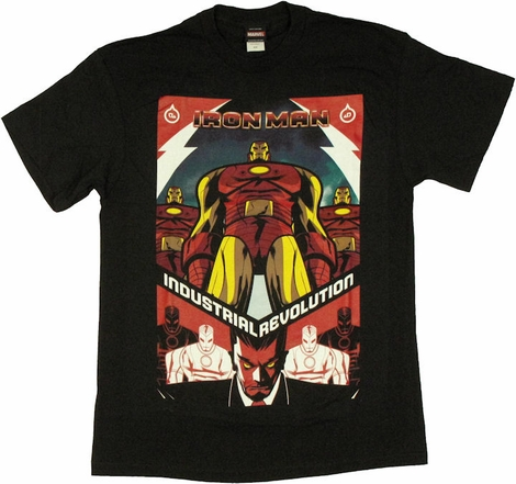 Iron Man Industrial Revolution T Shirt