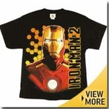 Iron Man Kids Shirt