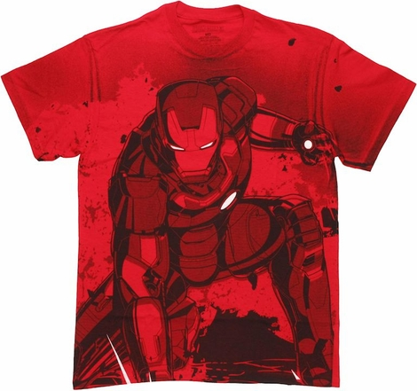 Iron Man Landing T Shirt