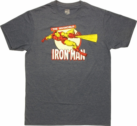 Iron Man Light Blast T-Shirt