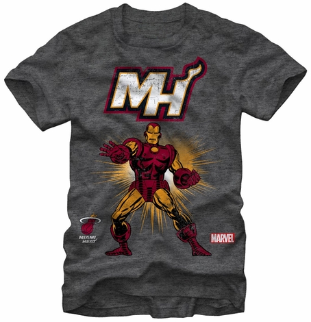 Iron Man Miami Heat MH T-Shirt