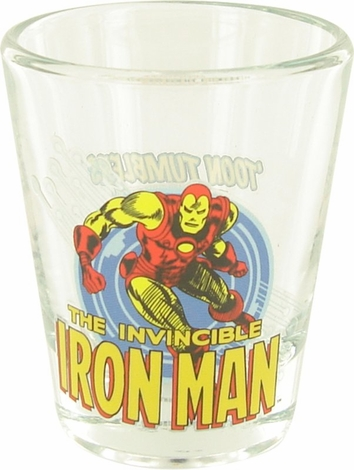 Iron Man Mini Toon Tumbler Shot Glass