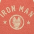 Iron Man Name Logo Tank Top