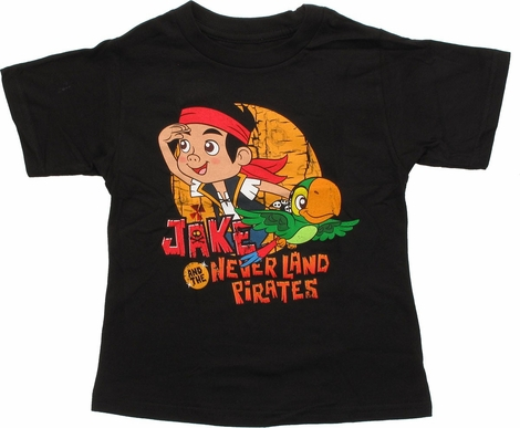 Jake and Never Land Pirates Search Toddler T-Shirt