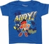 Jake and the Never Land Pirates Ahoy Toddler Shirt