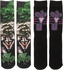Joker Dye and Knit 2 Pack Crew Socks Set