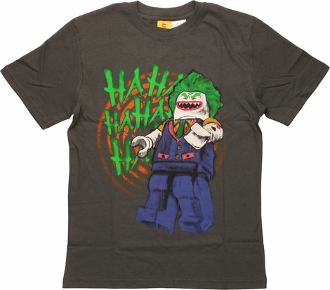 Joker Lego Laughing Youth T-Shirt