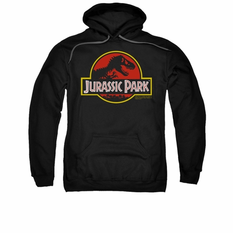 Jurassic Park Classic Logo Pullover Hoodie