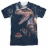 Jurassic Park Close Raptor Sublimated T Shirt