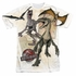 Jurassic Park Dino Drawings Sublimated T Shirt