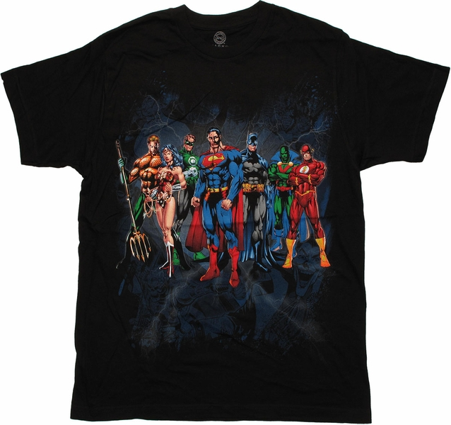 Justice League Shirts Merchandise and Clothing