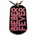 Justin Bieber Fever Dog Tag