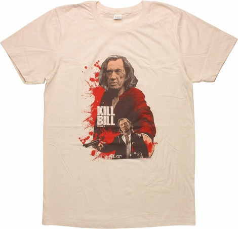 Kill Bill Vol 2 Bill Bloody Poses T-Shirt